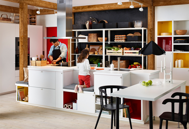 How To Design The Perfect Open Plan Kitchen Diner California Shutters